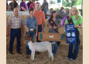 2012 Goat Winners - Umbarger Show Feeds