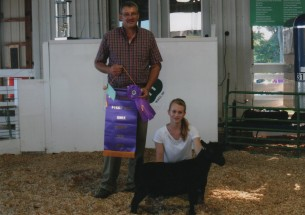 Diane Hobbs- Champion Pygmy Goat- KNox Co IN Fair