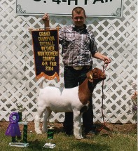 Drake Biaydes- Champion Wether- Montgomery Co IN Fair