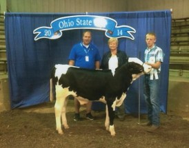 Hunter Adams- 3rd Overall Dairy Feeder- Ohio State Fair