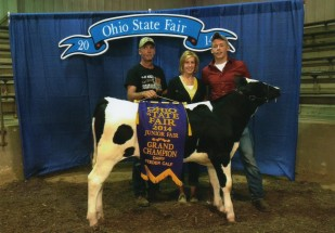 Isaiah Adams- Champion Dairy Feeder- Ohio State Fair