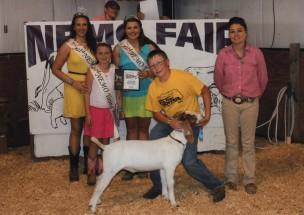 Kamron Stephenson- Champion Market Goat- Nemo District Fair MO