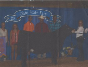 Macie Ott- Reserve Champion Maintainer Female- Ohio State Fair