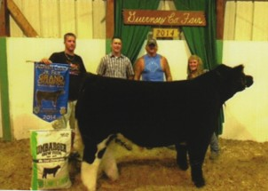 Skylee Moore- Champion Steer- Guensey Co OH Fair
