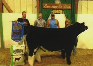Skylee Moore- Champion Steer- Guensey Co OH Fair