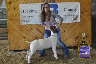 15-GrandChampionMarketGoat-HockingCountyMarketGoatShow-EmmaRutter