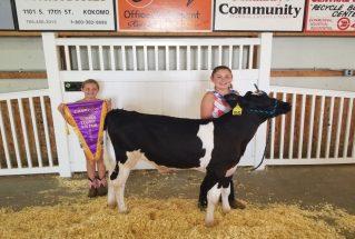 Mackenzie Appleton, Howard County Fair 2019, Grand Champion Dairy Steer